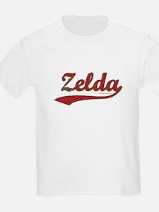 Zelda, Red Script T-Shirt