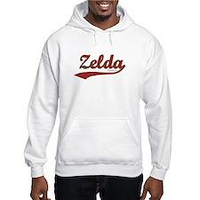 Zelda, Red Script Hoodie