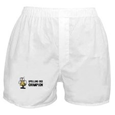 Spelling Bee Champion Boxer Shorts
