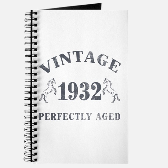 1932 Vintage w/ Horses Journal