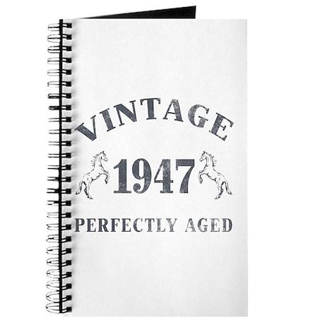 1947 Vintage w/ Horses Journal