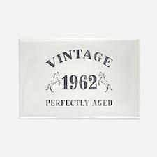 1962 Vintage w/ Horses Rectangle Magnet