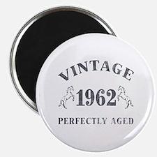"""1962 Vintage w/ Horses 2.25"""" Magnet (10 pack)"""