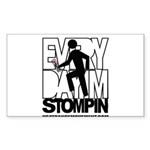 Every Day I'm Stompin Sticker (Rectangle)