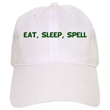 Eat Sleep Spell 4 Baseball Cap