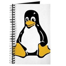 Classic Tux Penguin Journal