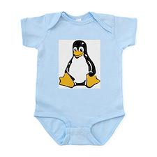 Classic Tux Penguin Infant Bodysuit