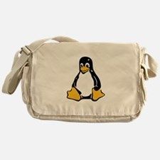 Classic Tux Penguin Messenger Bag