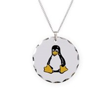 Classic Tux Penguin Necklace