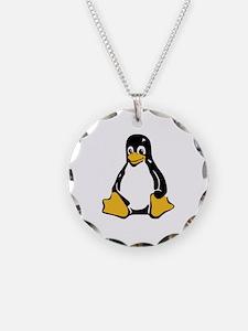 Classic Tux Penguin Necklace