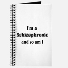 I'm A Schizophrenic Journal