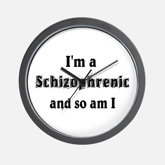 I'm A Schizophrenic Wall Clock