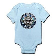USN Aviation Ordnanceman Skul Infant Bodysuit