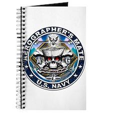 USN Aerographers's Mate Skull Journal