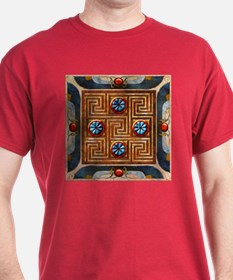 Harvest Moon's Dark Egyptian Tile T-Shirt