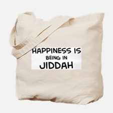 Happiness is Jiddah Tote Bag