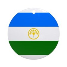 Bashkortostan Flag Ornament (Round)