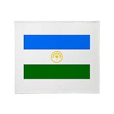 Bashkortostan Flag Throw Blanket