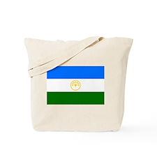 Bashkortostan Flag Tote Bag
