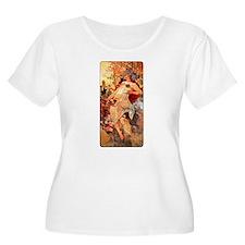 Art Nouveau Autumn T-Shirt