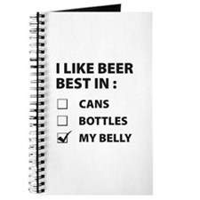 Beer Belly Journal