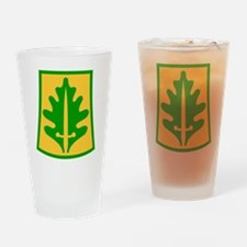 Unique Police bumper Drinking Glass