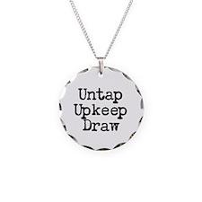Untap Upkeep Draw Necklace