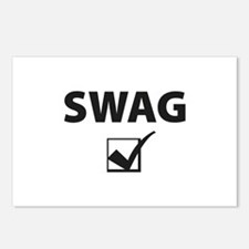 SWAG CHECK Postcards (Package of 8)