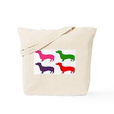 Pop Doxie II Tote Bag