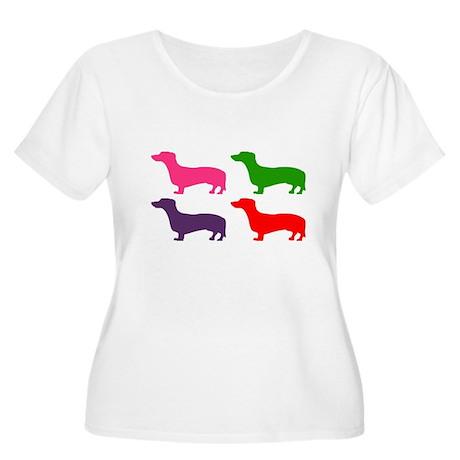 Pop Doxie II Women's Plus Size Scoop Neck T-Shirt