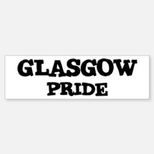 Glasgow Pride Bumper Bumper Bumper Sticker