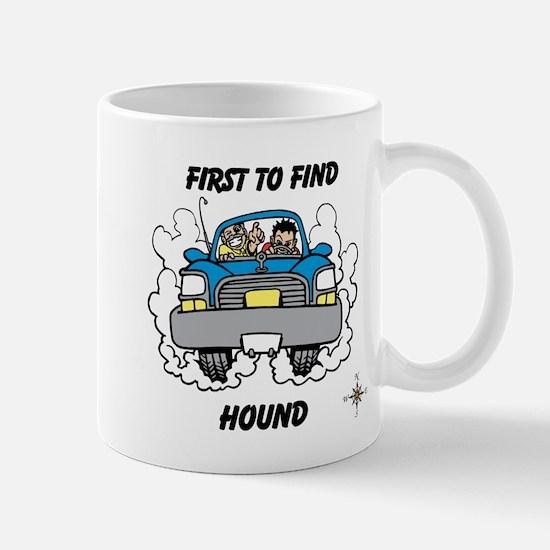 First to Find Hound Mug