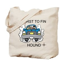 First to Find Hound Tote Bag