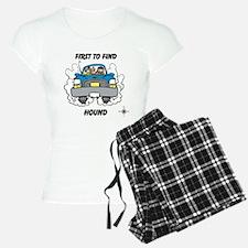 First to Find Hound pajamas