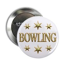 """Bowling Stars 2.25"""" Button (10 pack)"""