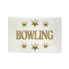 Bowling Stars Rectangle Magnet