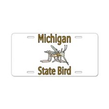 Michigan State Bird Aluminum License Plate