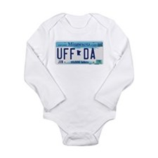 "Minnesota ""Uffda"" Long Sleeve Infant Bodysuit"