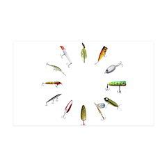 Fishing Lure Wall Decal