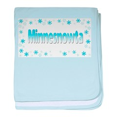 Minnesnowta Shop baby blanket