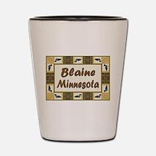 Blaine Loon Shot Glass