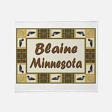 Blaine Loon Throw Blanket