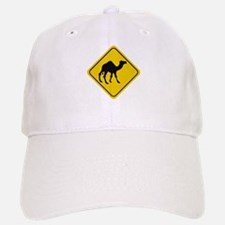 Camel Crossing Sign Baseball Baseball Cap
