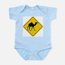 Camel Crossing Sign Infant Creeper