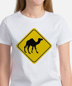 Camel Crossing Sign Tee