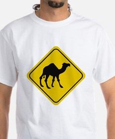 Camel Crossing Sign Shirt