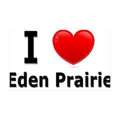 I Love Eden Prairie 38.5 x 24.5 Wall Peel