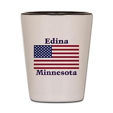 Edina Flag Shot Glass