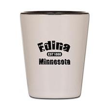 Edina Established 1888 Shot Glass