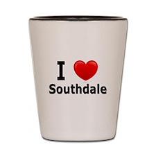 I Love Southdale Shot Glass